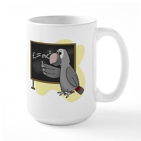E=mc2 Smart Timneh Large Mug