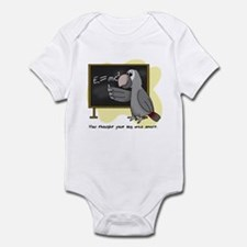 E=mc2 Smart Timneh Infant Bodysuit