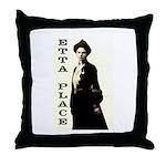 Etta Place Throw Pillow