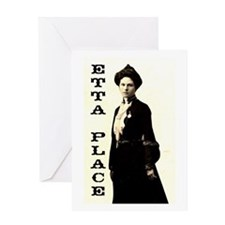 Etta Place Greeting Card