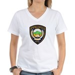 Twin Cities Police Women's V-Neck T-Shirt