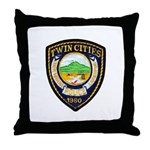 Twin Cities Police Throw Pillow