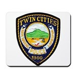 Twin Cities Police Mousepad