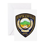 Twin Cities Police Greeting Cards (Pk of 10)