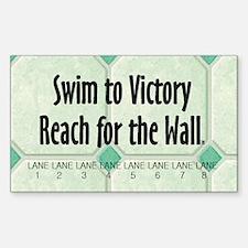 Swim Slogan Decal