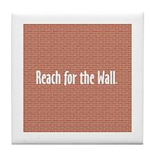 Swim Slogan Teepossible.com Tile Coaster