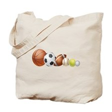 Balls of Sports - Tote Bag