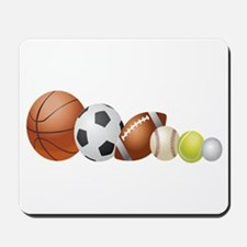 Balls of Sports - Mousepad