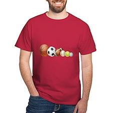 Balls of Sports - T-Shirt