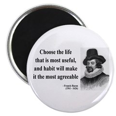 Francis Bacon Quote 7 Magnet