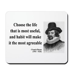Francis Bacon Quote 7 Mousepad
