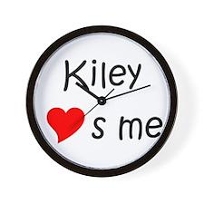 Unique Kiley Wall Clock