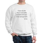 Francis Bacon Text 7 Sweatshirt