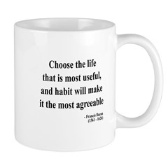 Francis Bacon Text 7 Mug