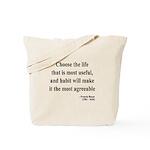 Francis Bacon Text 7 Tote Bag
