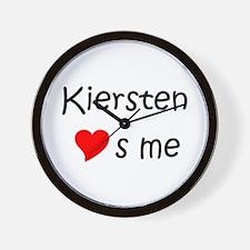 Unique Kiersten Wall Clock