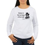 Francis Bacon Quote 8 Women's Long Sleeve T-Shirt