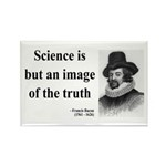 Francis Bacon Quote 8 Rectangle Magnet (100 pack)