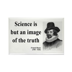 Francis Bacon Quote 8 Rectangle Magnet (10 pack)