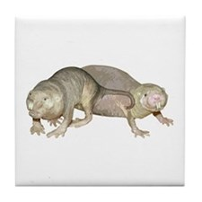 Naked Mole Rats Tile Coaster