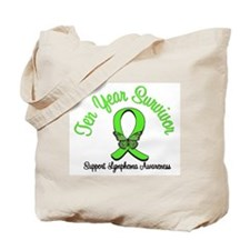 Lymphoma Survivor Tote Bag