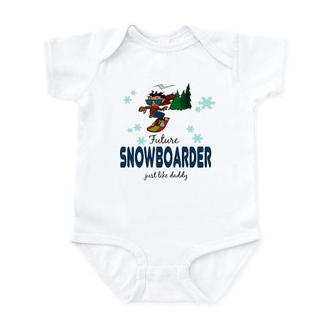 Future Snowboarder Like Daddy Baby Infant Bodysuit