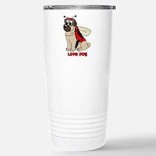 Love Pug Travel Mug