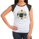 XmasMusic1MCL/Scottie #12 Women's Cap Sleeve T-Shi