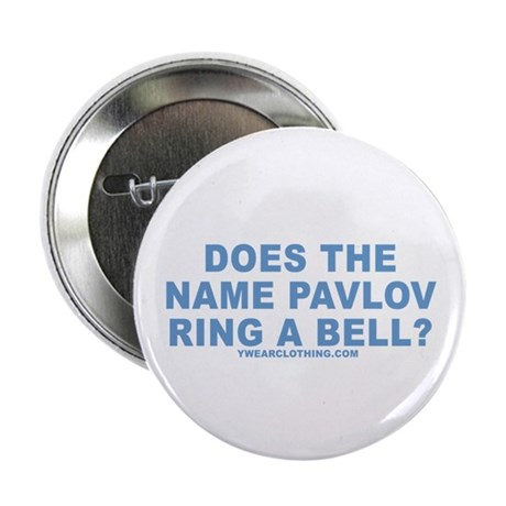 "Pavlov's Bell 2.25"" Button (10 pack)"