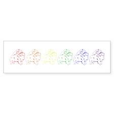 Pom Pride Bumper Sticker (10 pk)