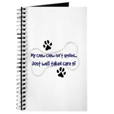 My Chow Chow Isn't Spoiled Journal