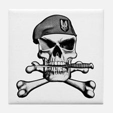 SAS Skull and Bones Tile Coaster