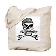 SAS Skull and Bones Tote Bag