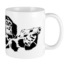 Black chimp Mug
