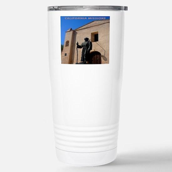 California Missions Stainless Steel Travel Mug