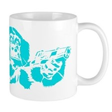 Blue chimp Mug