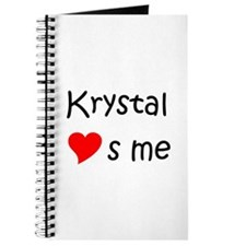 Cute Krystal Journal