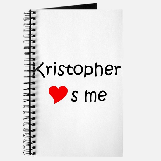 Funny Kristopher Journal