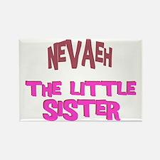 Nevaeh - The Little Sister Rectangle Magnet