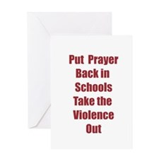 Prayer and Schools Greeting Card