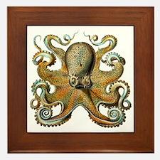 Octopus Framed Tile