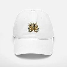 Octopus Baseball Baseball Cap