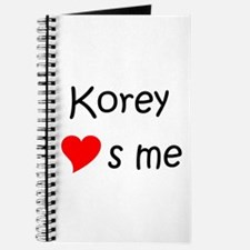 Funny Korey Journal