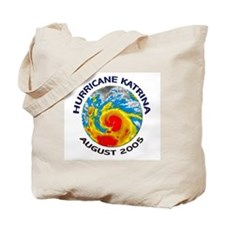 Hurricane Katrina Satellite Tote Bag