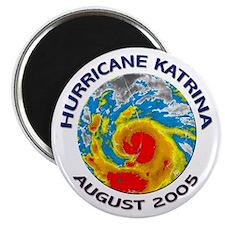 Hurricane Katrina Satellite Magnet