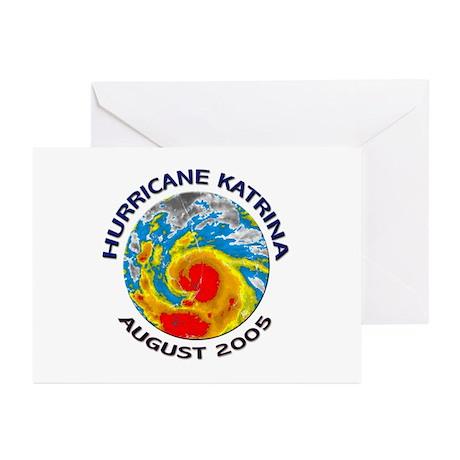 Hurricane Katrina Satellite Greeting Cards (Packag