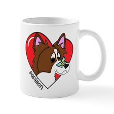 Cartoon Papillon Love Mug
