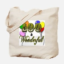 100 and Wonderful Tote Bag
