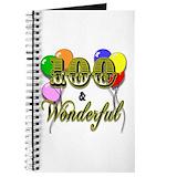 100th birthday Journals & Spiral Notebooks