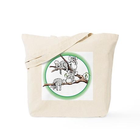 Sleeping koalas Tote Bag